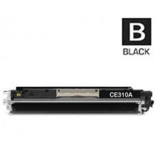 Hewlett Packard CE310A HP126A Black Laser Toner Cartridge Premium Compatible