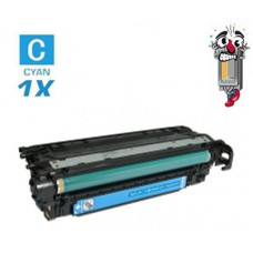 Hewlett Packard CE401A HP507A Cyan Laser Toner Cartridge Premium Compatible