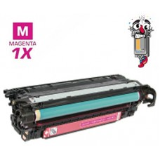 Hewlett Packard CE403A HP507A Magenta Laser Toner Cartridge Premium Compatible