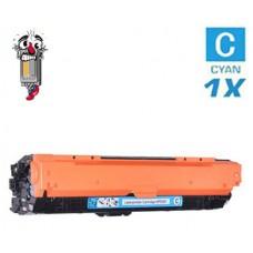 Hewlett Packard CE741A HP307A Cyan Laser Toner Cartridge Premium Compatible