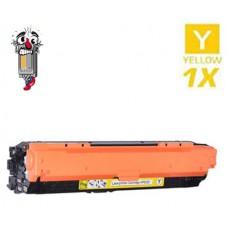 Hewlett Packard CE742A HP307A Yellow Laser Toner Cartridge Premium Compatible