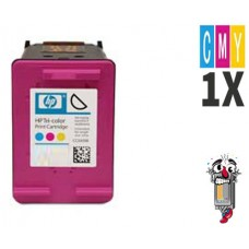 Hewlett Packard HP61XL CH564WN High Yield Tri-Color Inkjet Cartridge Remanufactured