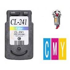 Canon CL241 Tri-Color Inkjet Cartridge Remanufactured