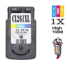 Canon CL261XL Color Inkjet Cartridge Remanufactured