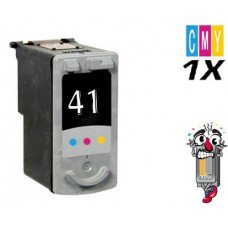 Canon CL41 Tri-Color Inkjet Cartridge Remanufactured