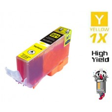Canon CLI221Y Yellow Inkjet Cartridge Remanufactured