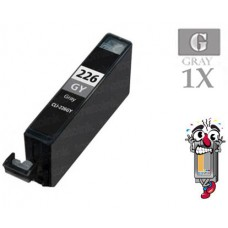 Canon CLI226GY Gray Inkjet Cartridge Remanufactured