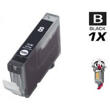Canon CLI8BK Black Inkjet Cartridge Remanufactured