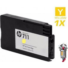 Hewlett Packard CZ132A HP711 Yellow Ink Cartridge Premium Compatible