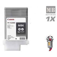 Canon PFI107MBK Matte Black Laser Toner Cartridge Remanufactured