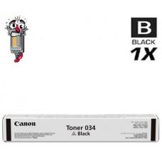 Genuine Canon 034 Black Laser Toner Cartridge