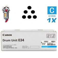 Genuine Original Canon 034 Cyan Drum Unit Cartridge