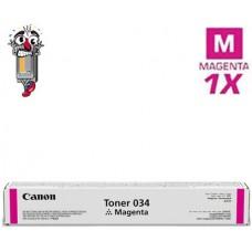 Genuine Canon 034 Magenta Laser Toner Cartridge