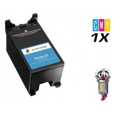 Dell X738N / T096N (Series 22) High Yield Color Ink Cartridge Premium Compatible