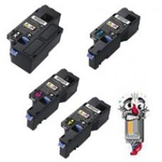 4 Piece Bulk Set Dell DPV4T H5WFX G20VW 3581G combo Laser Toner Cartridges Premium Compatible