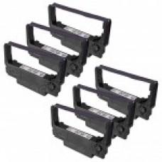 Epson ERC38B Black Printer Ribbon Cartridge (6 Pack) Premium Compatible