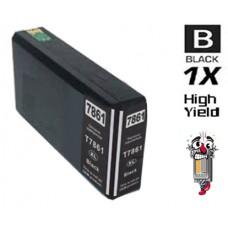 Epson T786XL High Capacity Black Inkjet Cartridge Remanufactured