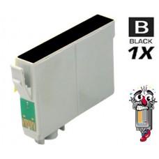 Epson T126120 Moderate Black Inkjet Cartridge Remanufactured