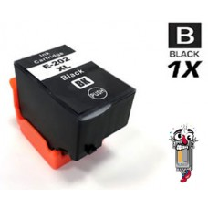 Epson T202XL120 High Yield Black Ink Cartridge Remanufactured