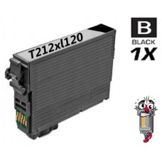 Epson T212XL120 Black Inkjet Cartridge Remanufactured