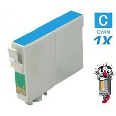 Epson T126220 Moderate Cyan Inkjet Cartridge Remanufactured