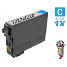 Epson T212XL220 Cyan Inkjet Cartridge Remanufactured