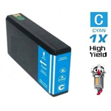Epson T676XL High Yield Cyan Inkjet Cartridge Remanufactured