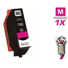 Epson T302XL320 High Yield Magenta Ink Cartridge Remanufactured