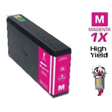 Epson T676XL High Yield Magenta Inkjet Cartridge Remanufactured