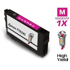 Epson T702XL DURABrite High Yield Magenta Ink Cartridge Remanufactured
