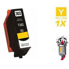 Epson T302XL420 High Yield Yellow Ink Cartridge Remanufactured