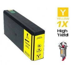 Epson T676XL High Yield Yellow Inkjet Cartridge Remanufactured