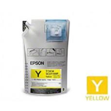 Genuine Original Epson T741400 UltraChrome Yellow Ink Cartridge