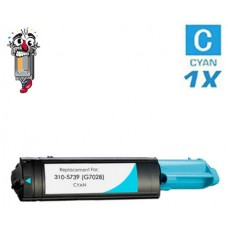 Dell G7028 (310-5739) High Yield Cyan Laser Toner Cartridge Premium Compatible