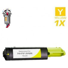 Dell G7029 (310-5737) High Yield Yellow Laser Toner Cartridge Premium Compatible