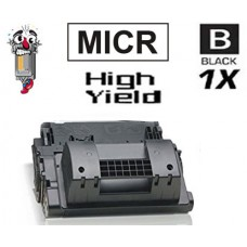 Hewlett Packard CF281XM HP81XM mICR High Yield Black Laser Toner Cartridge Premium Compatible