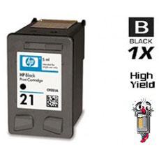 Hewlett Packard C9351AN HP21 Black Cartridge Remanufactured