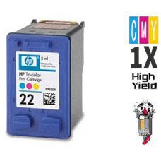 Hewlett Packard C9352AN HP22 Tri-Color Inkjet Cartridge Remanufactured