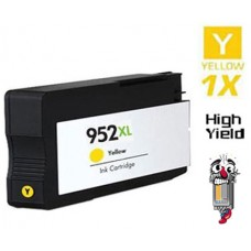 Hewlett Packard L0S64AN HP952XL High Yield Yellow Inkjet Cartridge Remanufactured
