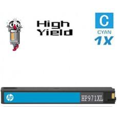 Hewlett Packard CN626AM HP971XL High Yield Cyan Inkjet Cartridge Remanufactured