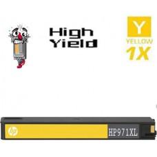 Hewlett Packard CN628AM HP971XL High Yield Yellow Inkjet Cartridge Remanufactured