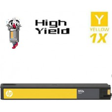 Hewlett Packard HP972X L0S04AN High Yield Yellow Ink Cartridge Remanufactured