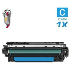 Hewlett Packard CE341A HP651A Cyan Laser Toner Cartridge Premium Compatible