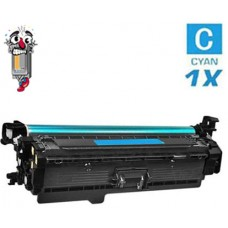 Hewlett Packard CF401A HP201A Cyan Laser Toner Cartridge Premium Compatible