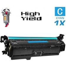 Hewlett Packard CF401X HP201X High Yield Cyan Laser Toner Cartridge Premium Compatible