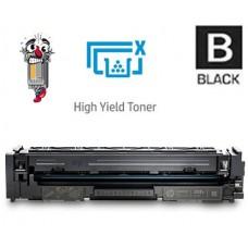 Hewlett Packard CF500X HP202X High Yield Black Laser Toner Cartridge Premium Compatible