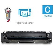 Hewlett Packard CF501X HP202X High Yield Cyan Laser Toner Cartridge Premium Compatible
