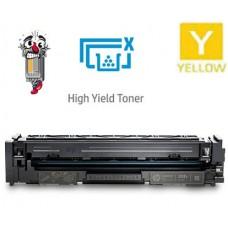 Hewlett Packard CF502X HP202X High Yield Yellow Laser Toner Cartridge Premium Compatible