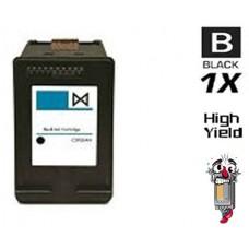 Hewlett Packard HP63XL F6U64AN High Yield Black Ink Cartridge Remanufactured