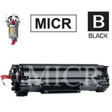 Hewlett Packard CE278A HP78A MICR Black Laser Toner Cartridge Premium Compatible